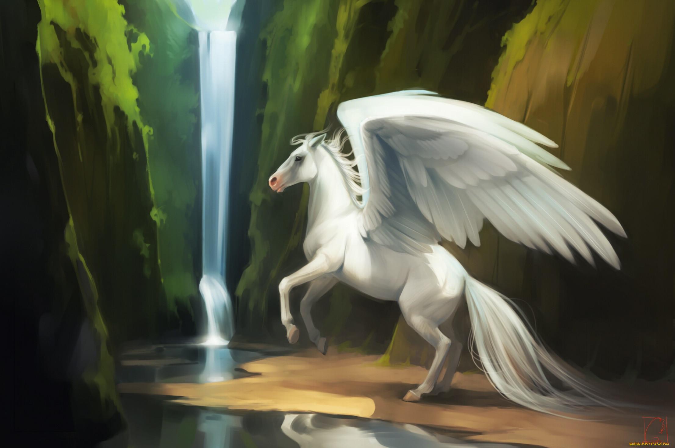 Картинки лошади и пегасы
